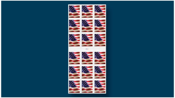 The 2017 Flag Forever Atm Pane Is A Good Buy - United-states-forever-stamps