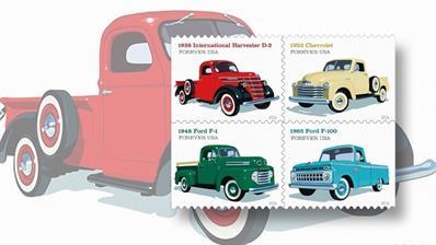 us-pickup-trucks-stamps