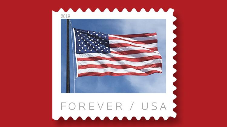 us-stamp-2019-us-flag