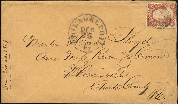 us-stamp-notes-1857-cover-christmas-day-postmark