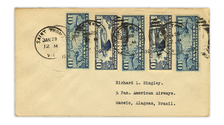 us-stamp-notes-1932-fam-6-airmail-cover-brazil