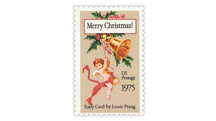 1975 nondenominated Christmas stamp