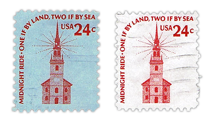 us-stamp-notes-1975-old-north-church-stamp