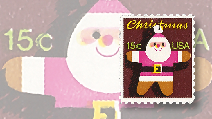 us-stamp-notes-1981-santa-claus-christmas-tree-ornament-stamp
