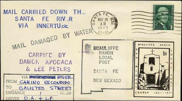 us-stamp-notes-cover-santa-fe-river-inner-tube