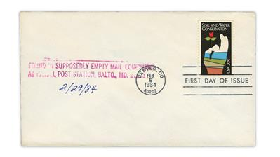 us-stamp-notes-damaged-first-day-cover