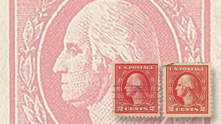 us-stamp-notes-expertizing-engraved-offset-printed-washington-stamps