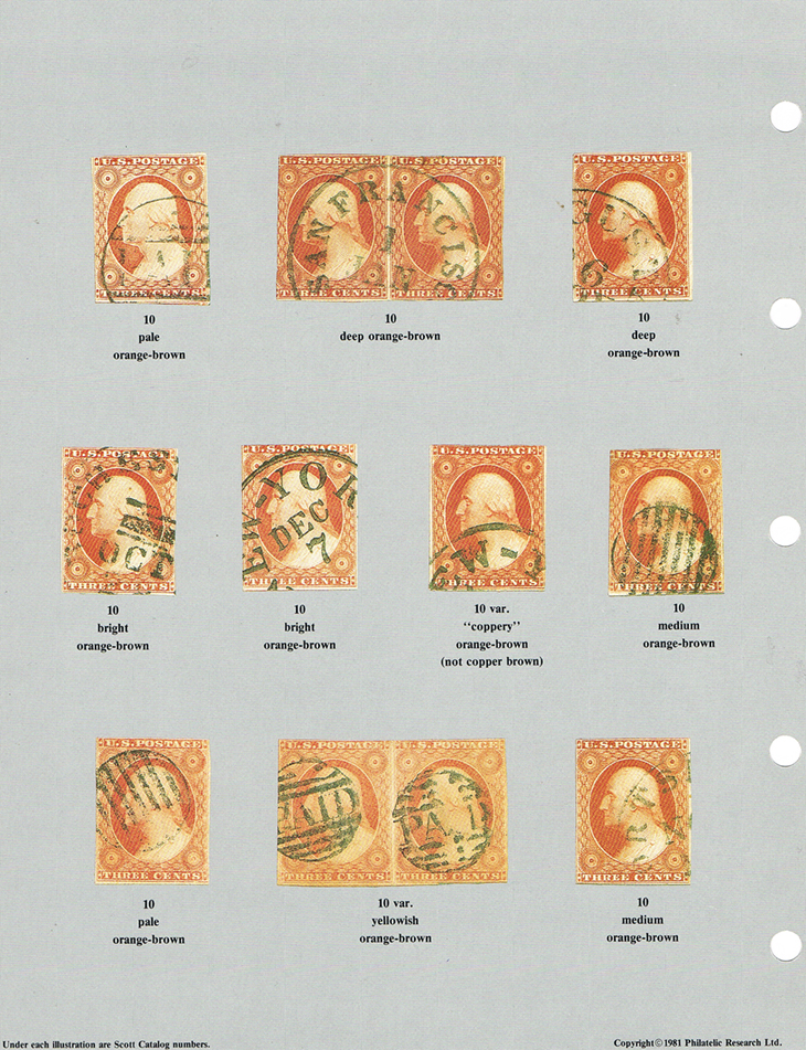us-stamp-notes-expertizing-rh-white-encyclopedia-colors-united-states-stamps