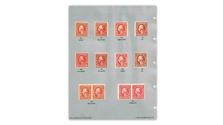 us-stamp-notes-expertizing-whites-color-red-stamps