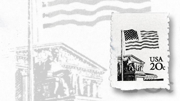 us-stamp-notes-flag-over-supreme-court-counterfeit