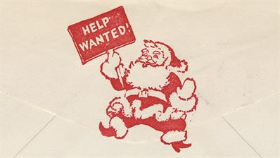 us-stamp-notes-santa-help-wanted