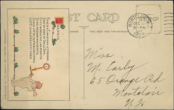 us-stamp-notes-mystery-postcard-montclair-new-jersey-1923-postmark