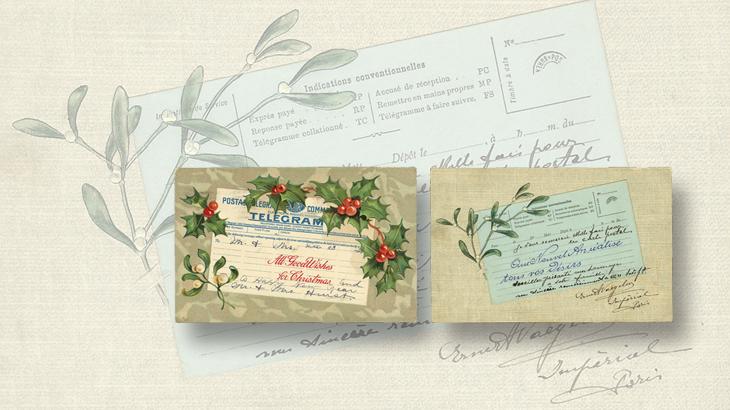us-stamp-notes-postcard-telegram-mimic