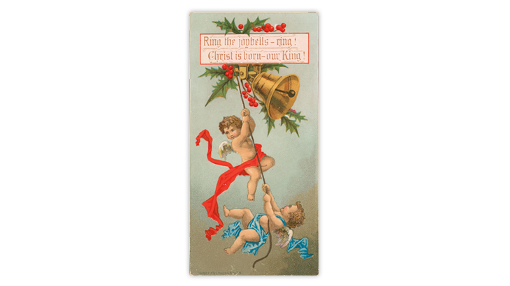 Prang Christmas postcard