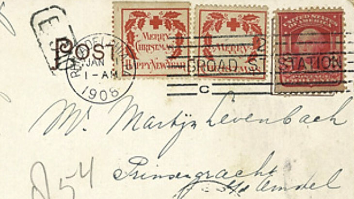 Christmas Seal 2021 Stamp Value Most Valuable Christmas Seal Cover Includes Both 1907 Types