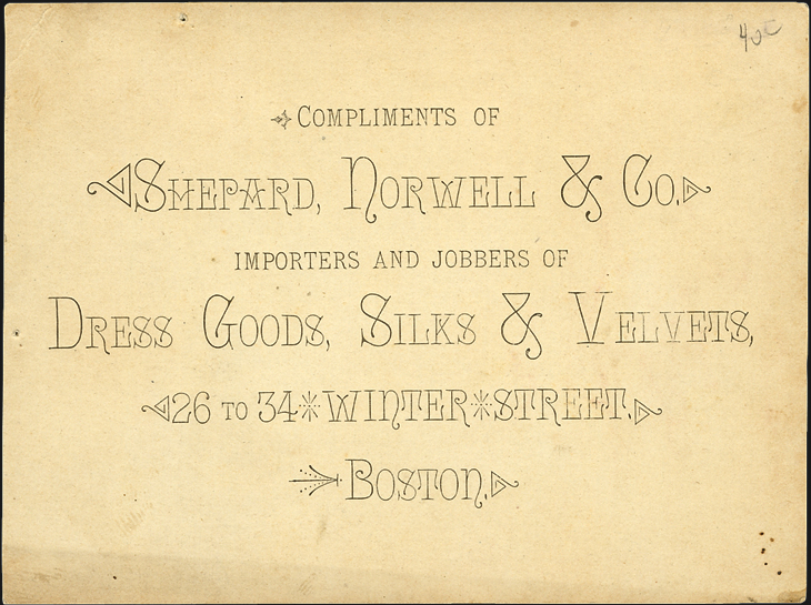 us-stamp-notes-trade-cards-shepard-norwell-boston-advertisment