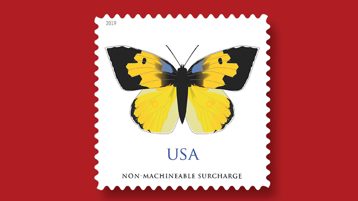 us-stamps-2019-dogface-butterfly