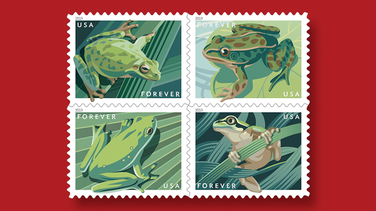 us-stamps-2019-frogs