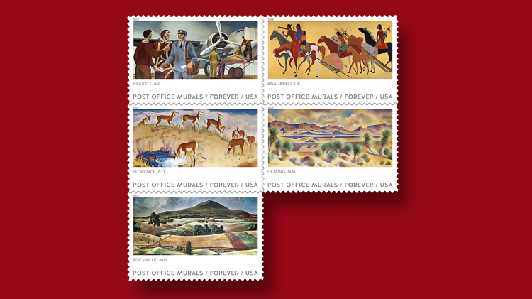 Usps Christmas Stamps 2019.United States 2019 Stamp Program Includes Stamps For