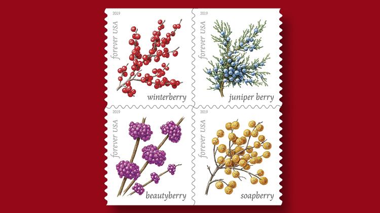 us-stamps-2019-winter-berries