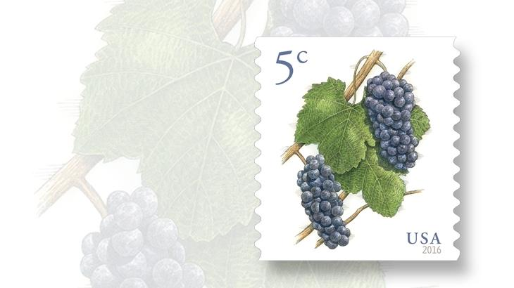 us-stamps-dates-grapes