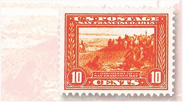 us-ten-cent-discovery-san-francisco-bay-stamp-weeks-most
