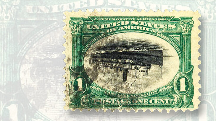 used-1-cent-us-pan-american-invert