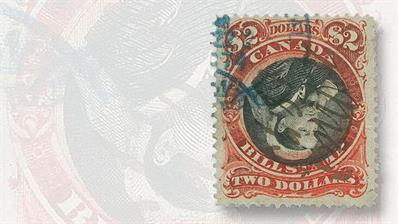 used-two-dollar-queen-victoria-bill-revenue-stamp