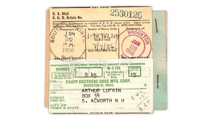 uspod-1956-form-3818-collection-delivery-tag