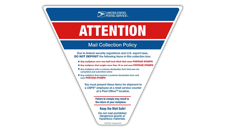Usps Tightens Rules On Stamped Parcels And Letters