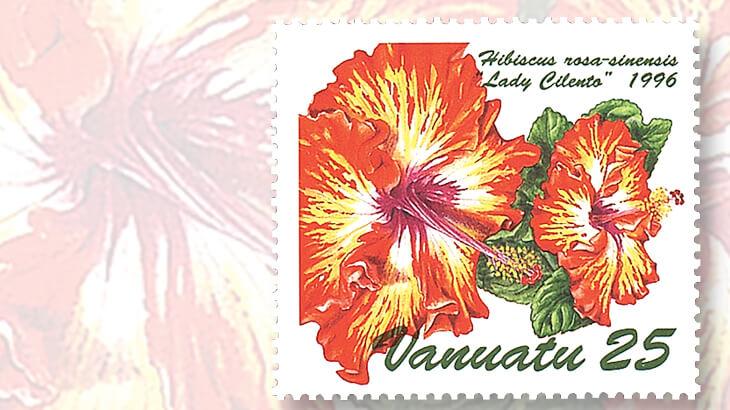 vanuatu-lady-cilento-flower-stamp