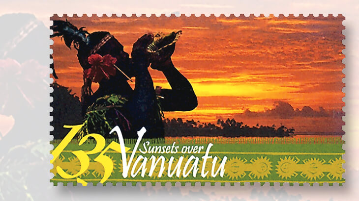 vanuatu-tropical-sunsets-stamp