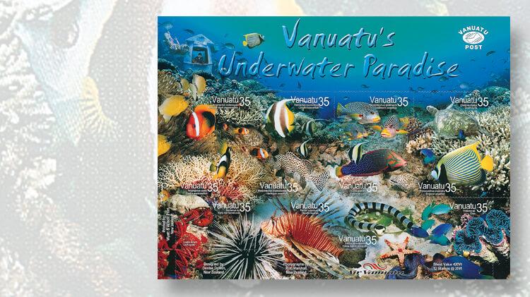 vanuatu-underwater-paradise-stamp