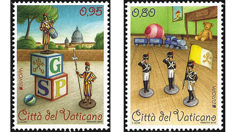 vatican-city-europa-toy-soldier-stamps-2015