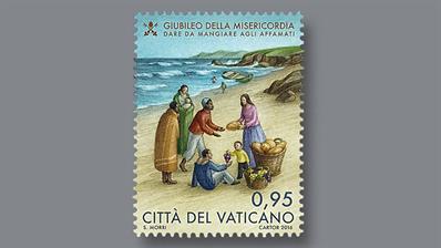 vatican-city-seven-works-mercy-stamps