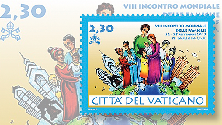 vatican-city-world-meeting-of-families-stamp