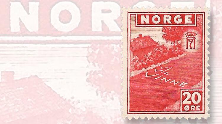 vi-vil-vinne-norway-stamp