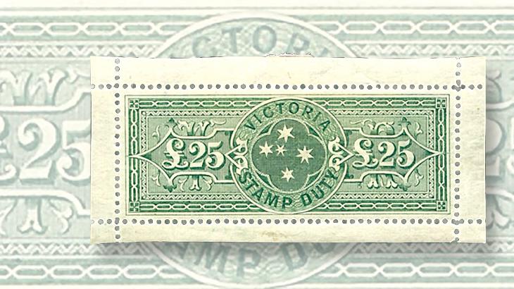 victoria-australia-postal-fiscal-stamp-feldman-auction-2015