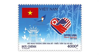 vietnam-trump-kim-summit-stamp