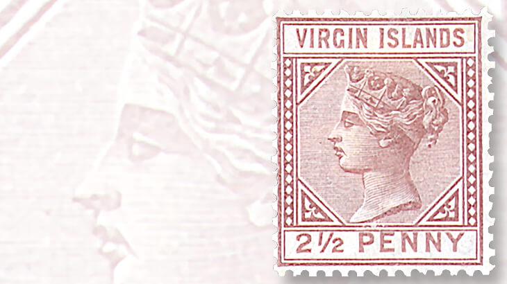 virgin-islands-queen-victoria-stamp