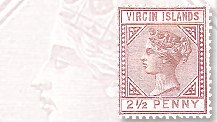 virgin-islands-queen-victoria-stamp