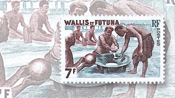wallis-and-futuna-kava-ceremony-stamp-1960
