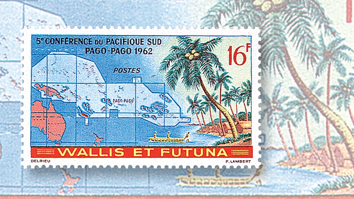 Stamps from a littleknown Polynesian paradise Wallis and Futuna