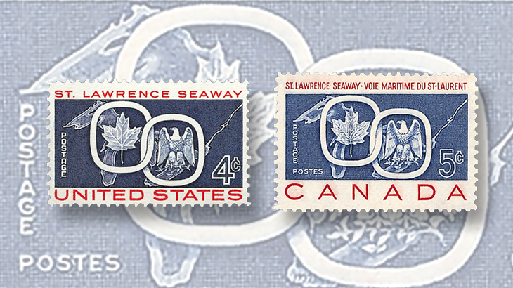 wayne-chen-promote-stamp-collecting-united-states-canada-st-lawrence-seaway-joint-issue