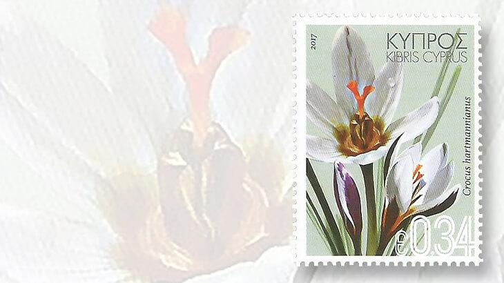wild-flowers-of-cyprus-crocus-stamp