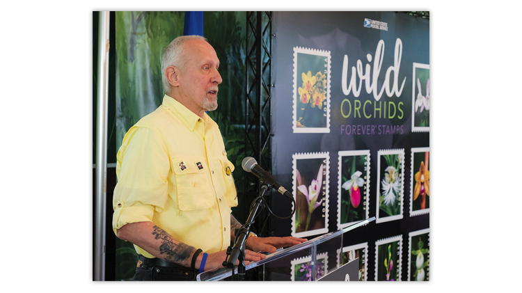 wild-orchids-stamps-first-day-ceremony-jim-fowler