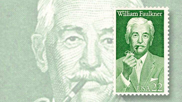william-faulkner-literary-stamp