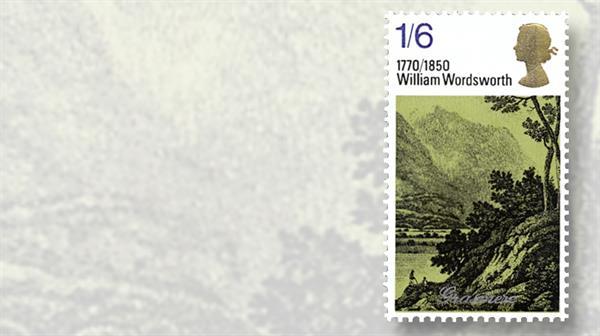 william-wordsworth-great-britain-poet-stamp