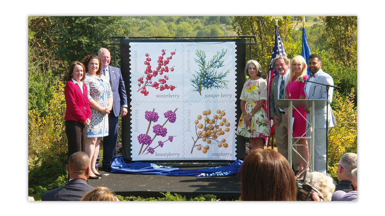 winter-berries-stamps-first-day-ceremony-unveiling