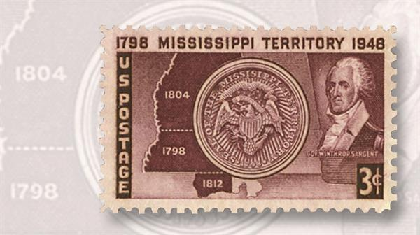 winthrop-sargent-mississippi-territory-stamp